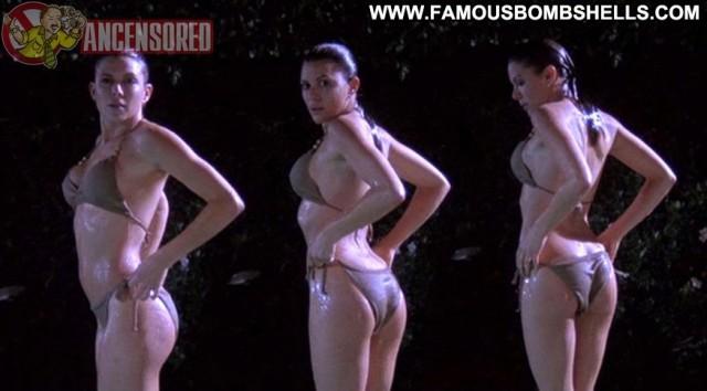 Kari Wuhrer Poison Beautiful Brunette Skinny Hot Small Tits Celebrity