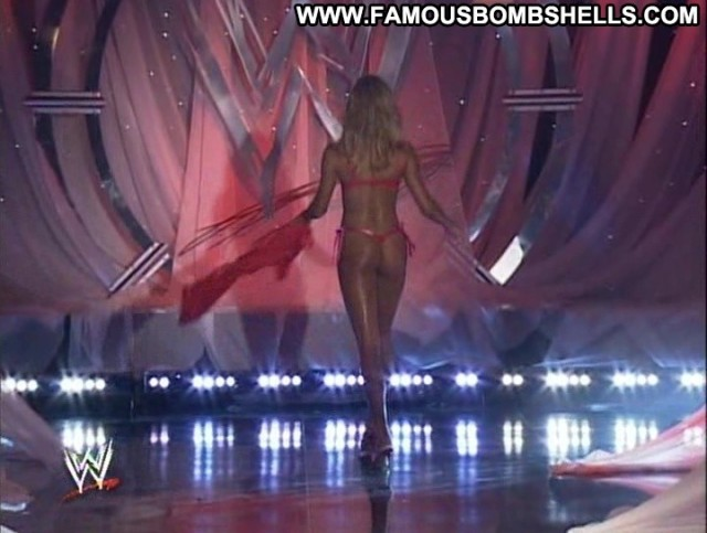 Stacy Keibler Wwe Divas Celebrity Stunning Small Tits Bombshell