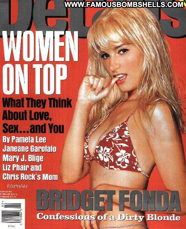 Bridget Fonda Miscellaneous Blonde Sensual Bombshell Celebrity Pretty