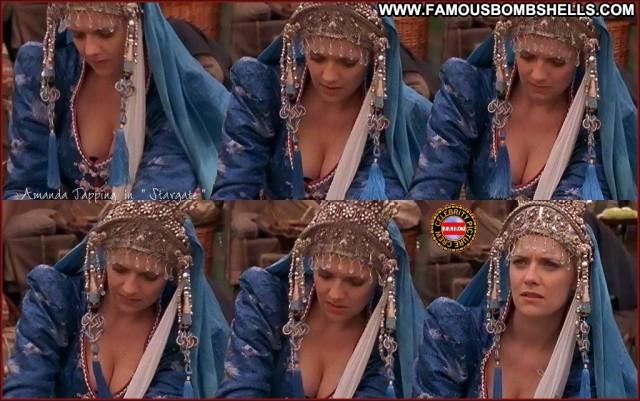 Amanda Tapping Stargate Sg Pretty Stunning Medium Tits Blonde Posing