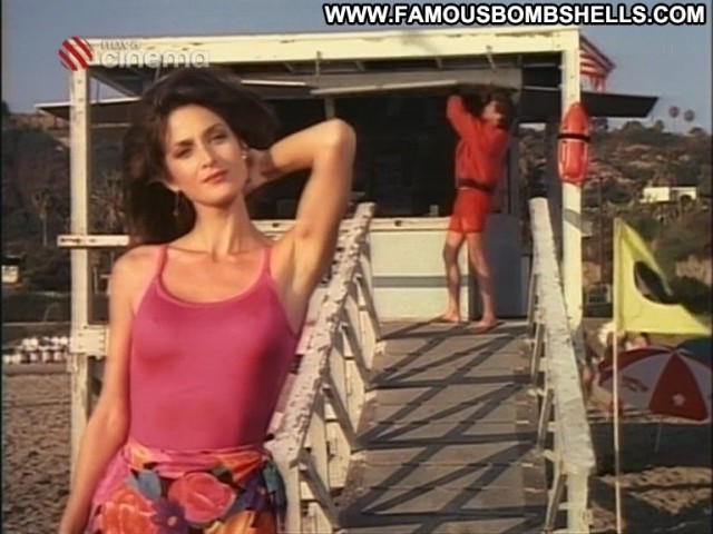 Carrie Anne Moss Baywatch International Brunette Sultry Small Tits