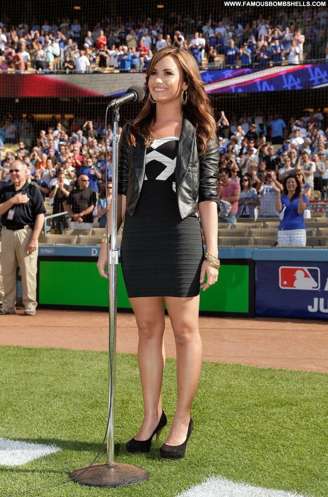 Demi Lovato Los Angeles Babe Los Angeles Beautiful Posing Hot