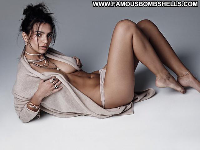 Emily Ratajkowski Topless Photoshoot Posing Hot Babe Beautiful