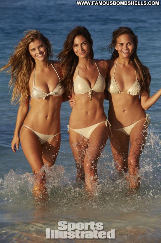 Nina Agdal No Source Celebrity Beautiful Babe Sports Posing Hot