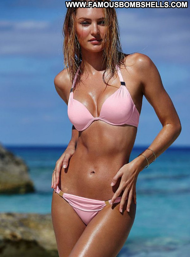 Candice Swanepoel No Source Posing Hot Bikini Beautiful Babe Celebrity