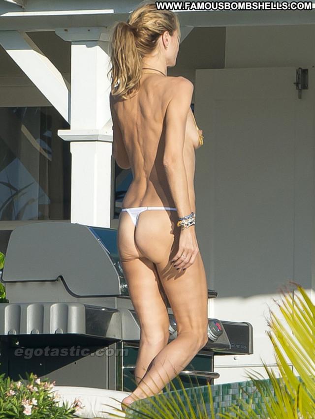 Heidi Klum No Source  Paparazzi Posing Hot Celebrity Topless