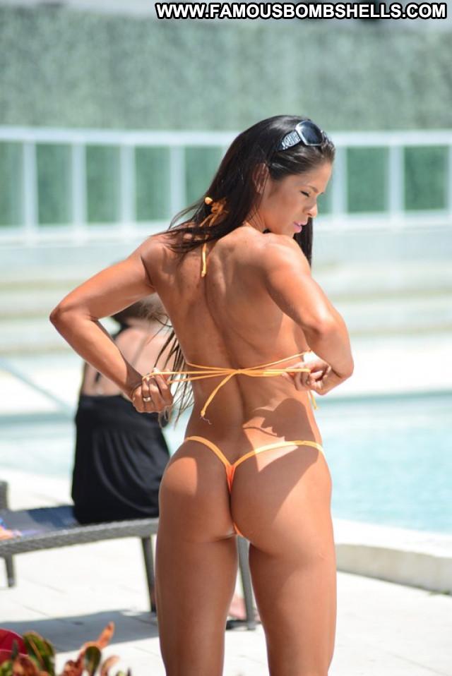 Bikini No Source Posing Hot Beautiful Celebrity Bikini Babe