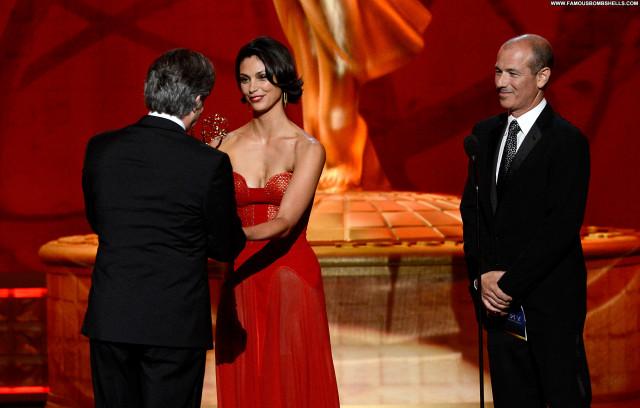 Morena Baccarin Emmy Awards Celebrity Live Posing Hot Awards Babe