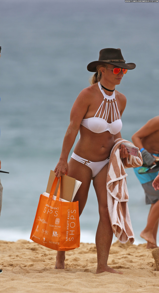 Britney Spears The Beach Celebrity Beach Singer Sexy Babe Posing Hot