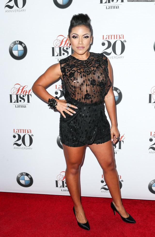 Vivian Lamolli See Through Latina Beautiful Hollywood Party Magazine