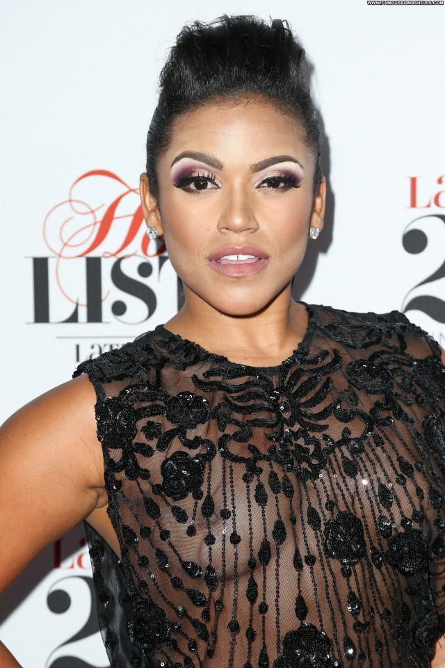 Vivian Lamolli No Source Magazine Hot Babe See Through Latina