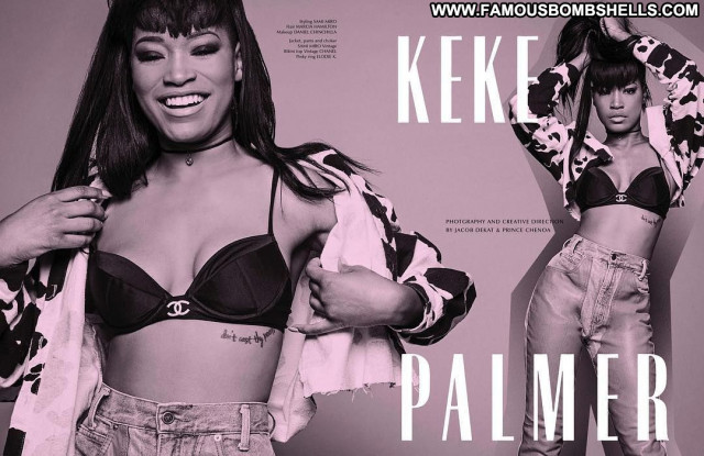 Keke Palmer Galore Magazine American Magazine Babe Sexy Posing Hot