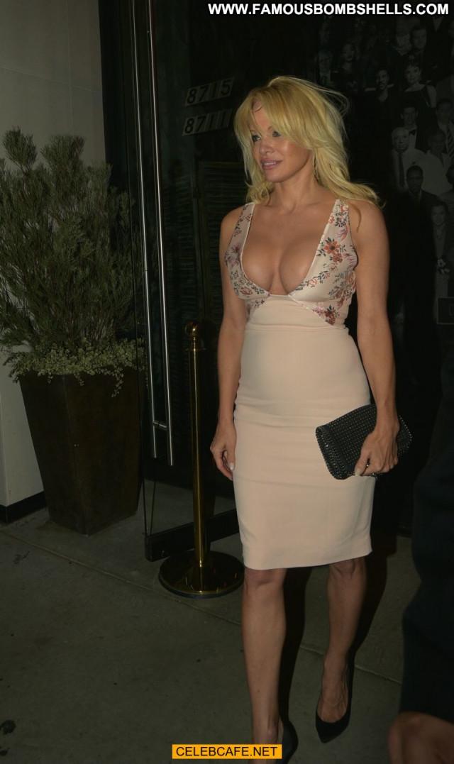 Pamela Anderson Beautiful Hollywood Posing Hot Cleavage Babe Nice