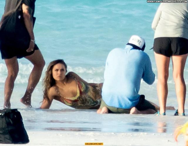 Ronda Rousey No Source Pain Bahamas Body Paint Nude Beautiful