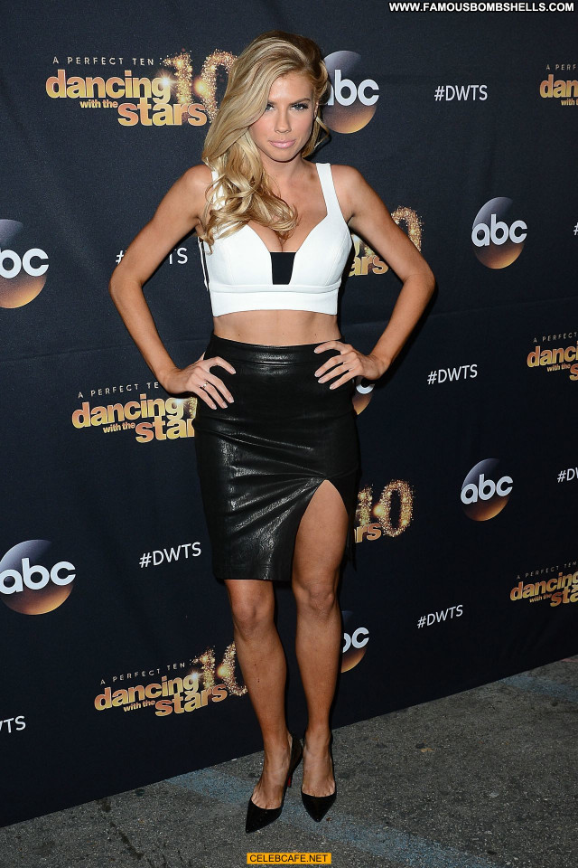 Charlotte Mckinney Dancing With The Stars Cleavage Legs Dancing