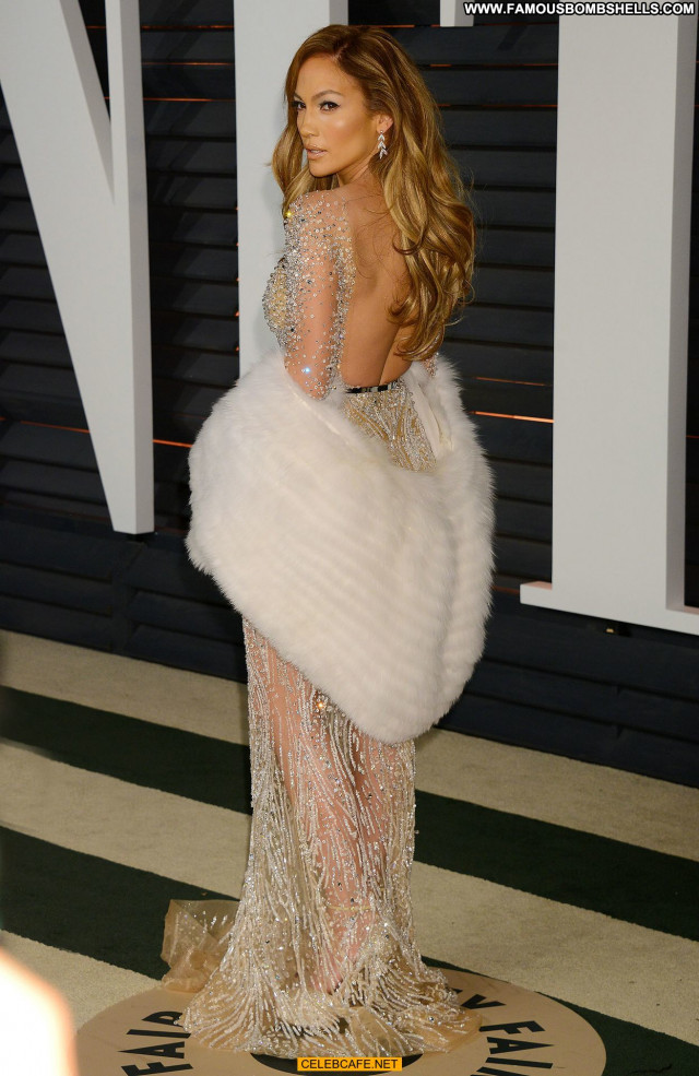 Jennifer Lopez Vanity Fair Cleavage Celebrity Babe Sexy Party Sex