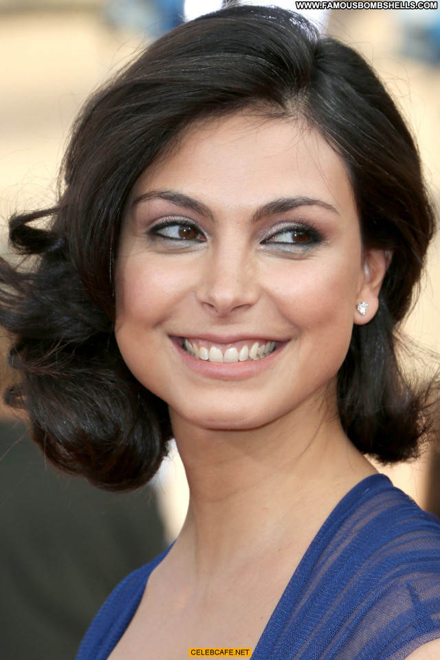 Morena Baccarin Los Angeles Cleavage Los Angeles Posing Hot Celebrity