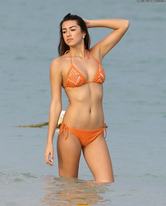 Alexis Rupp Candid Posing Hot Beautiful Candids Orange Bikini