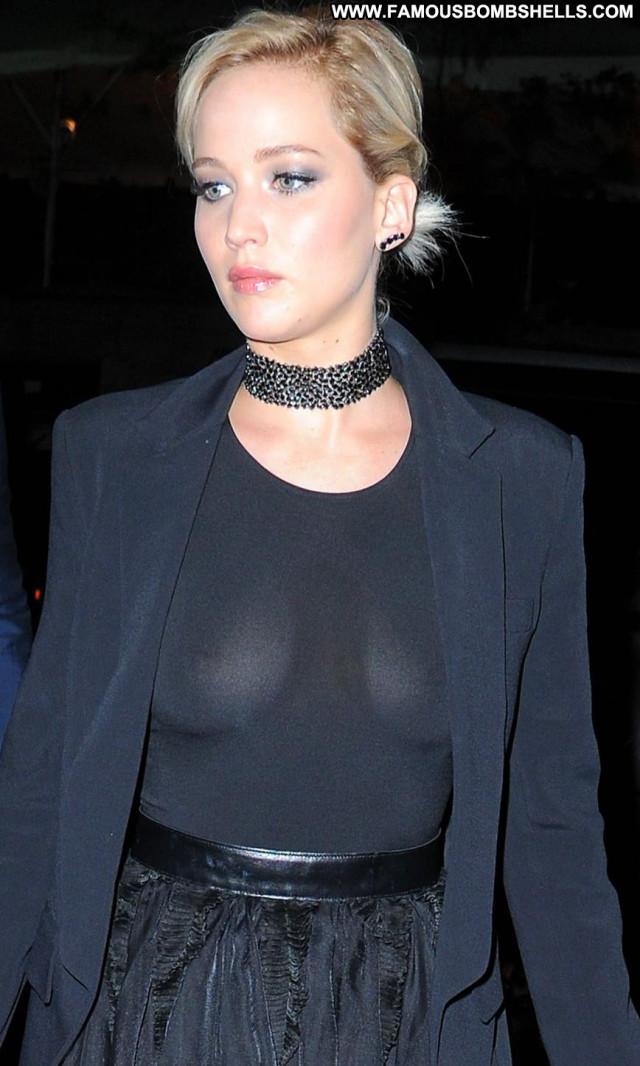 Jennifer Lawrence Good Night Beautiful New York Celebrity Big Tits