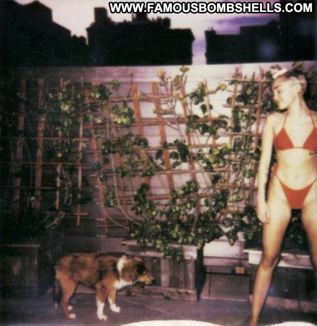 Miley Cyrus V Magazine Beautiful Posing Hot Breasts Magazine