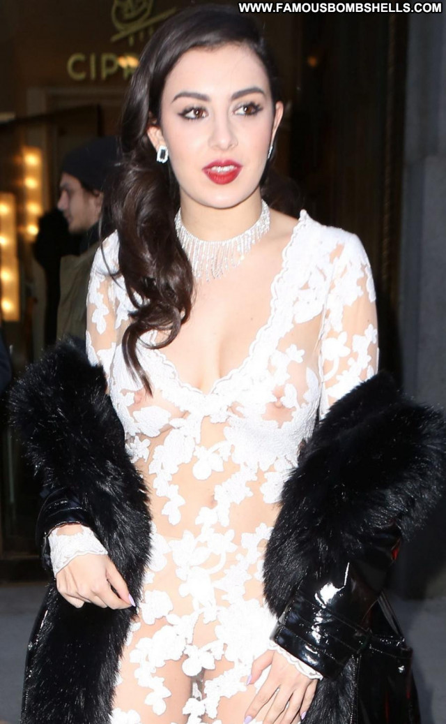 Charli Xcx The Dress Celebrity See Through British New York Beautiful
