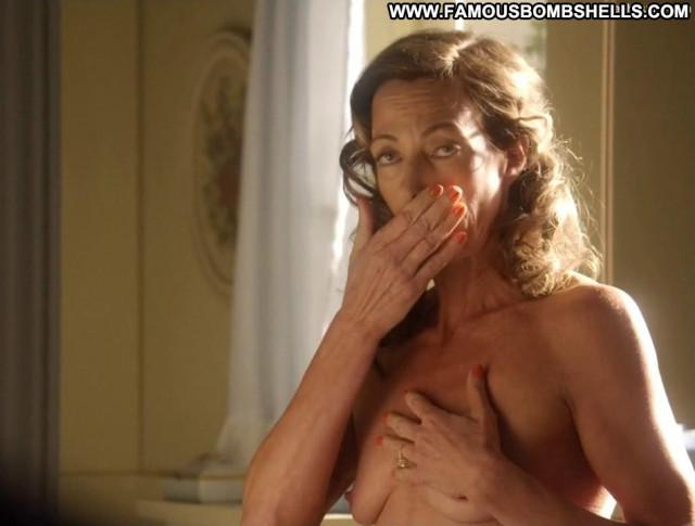 Allison Janney Masters Of Sex Toples Celebrity Breasts Bathroom