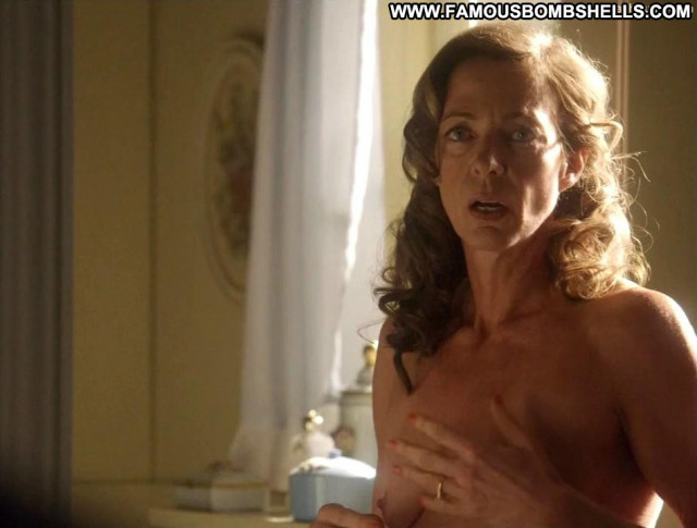 Allison Janney Masters Of Sex Secretary Celebrity Babe Toples Topless