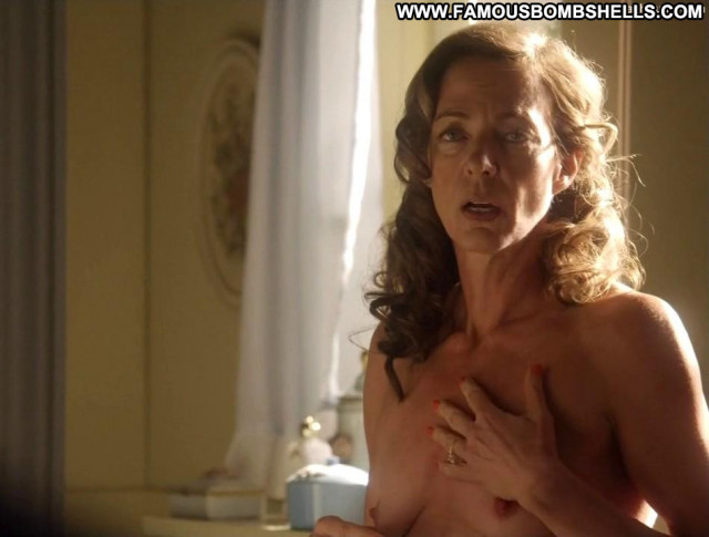 Allison Janney Masters Of Sex Secretary Celebrity Topless Bar