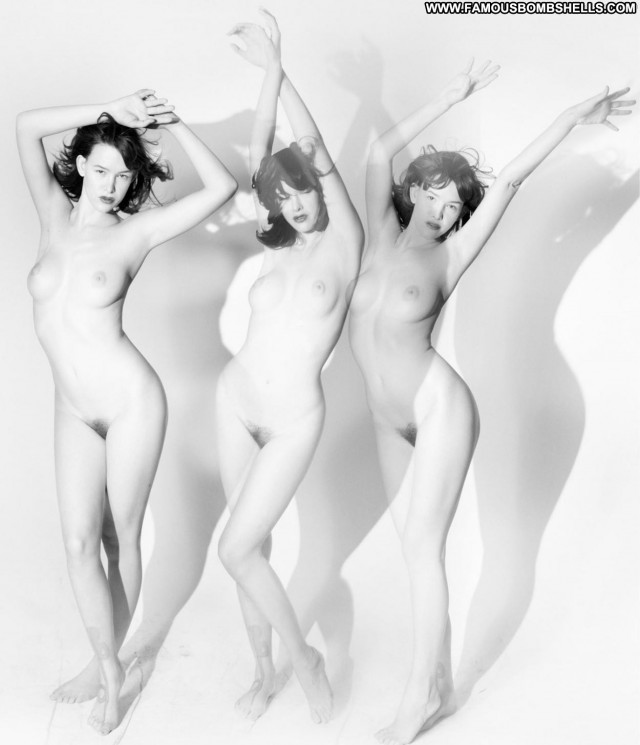 Paz De La Huerta Photo Shoot  Babe Boots Nude Happy Posing Hot