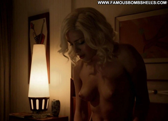 Elena Satine Magic City Breasts Posing Hot Celebrity Sex Scene Satin