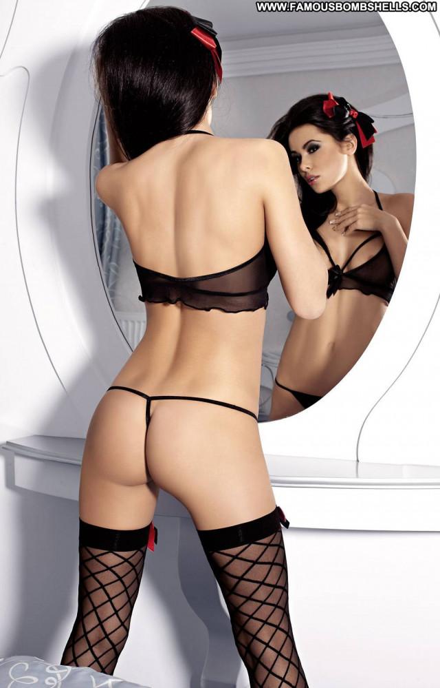 Patrycja Farbis The Company Lingerie Hat Shy Polish Posing Hot Babe