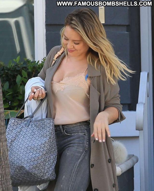 Hilary Duff Beverly Hills Beautiful Posing Hot Babe Celebrity