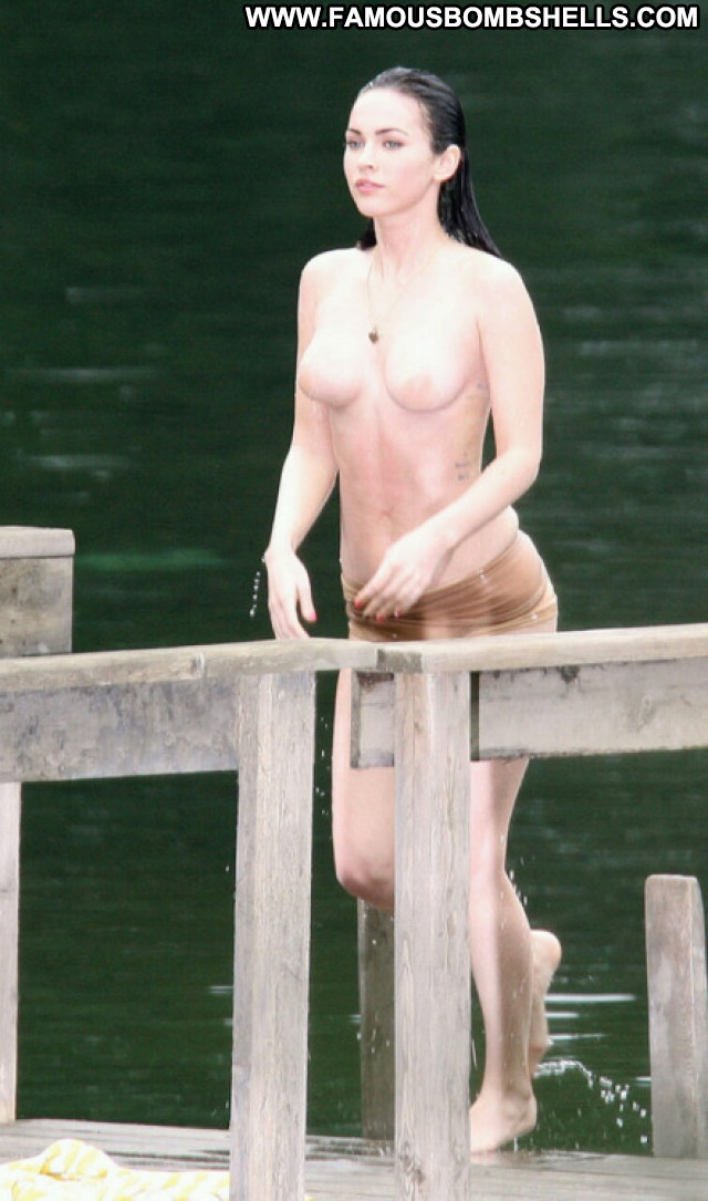 Megan Fox Celebrity Nude Posing Hot Babe Beautiful
