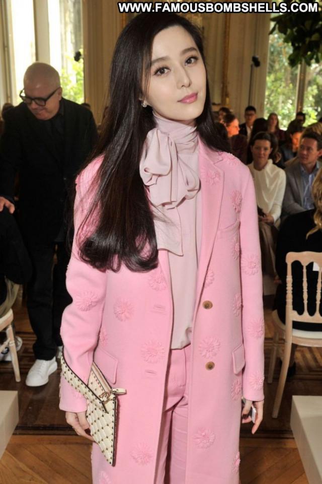 Fan Bingbing Fashion Show Paris Babe Posing Hot Fashion Paparazzi