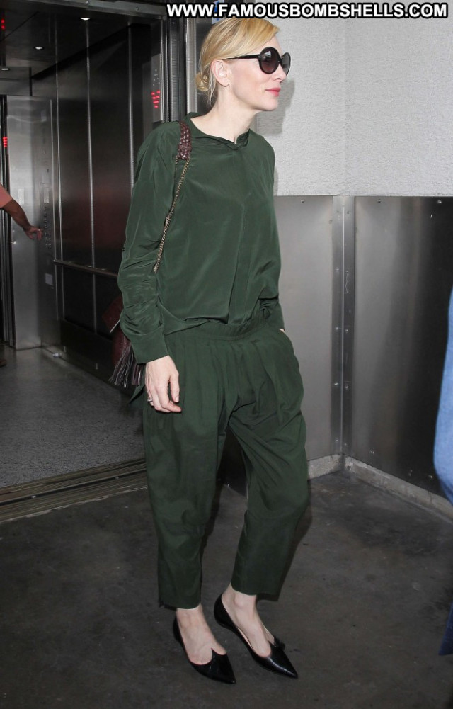 Cate Blanchett Lax Airport Babe Lax Airport Paparazzi Celebrity