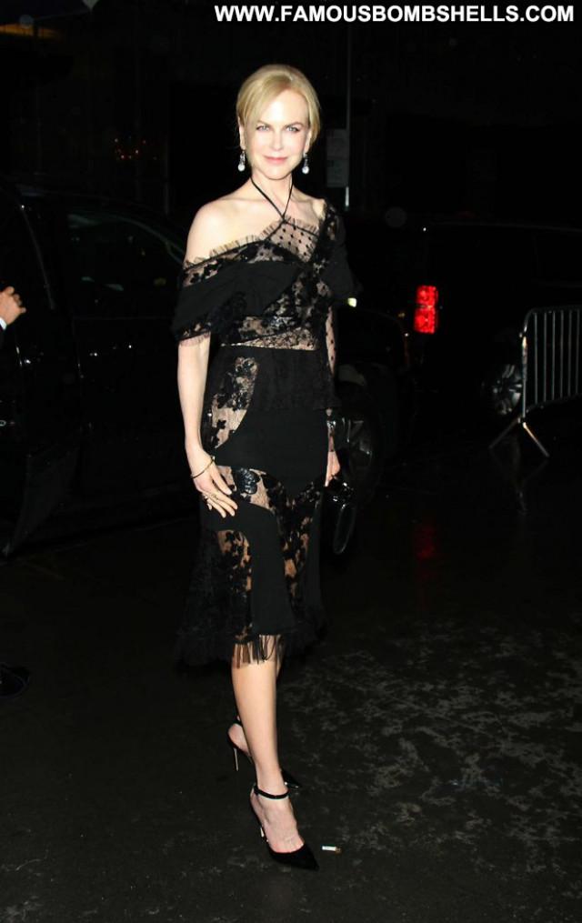 Nicole Kidman New York Beautiful Paparazzi Babe Posing Hot New York
