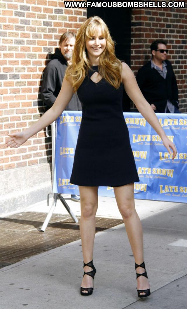 Jennifer Lawrence Celebrity Paparazzi Posing Hot Beautiful Babe
