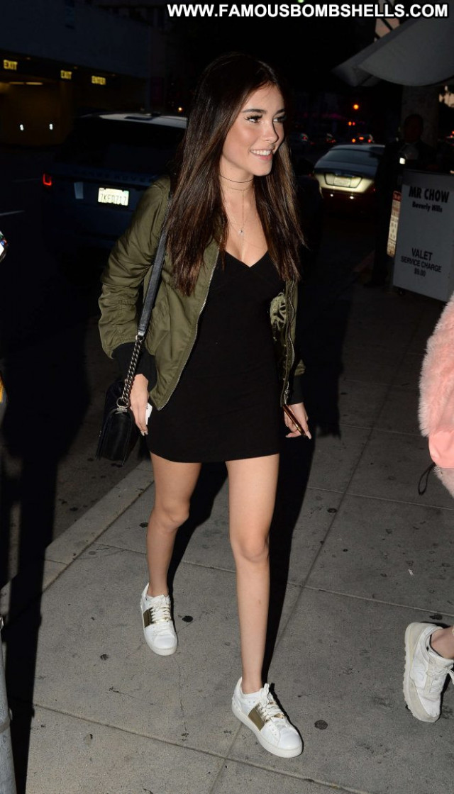 Madison Beer Los Angeles Los Angeles Restaurant Paparazzi Posing Hot