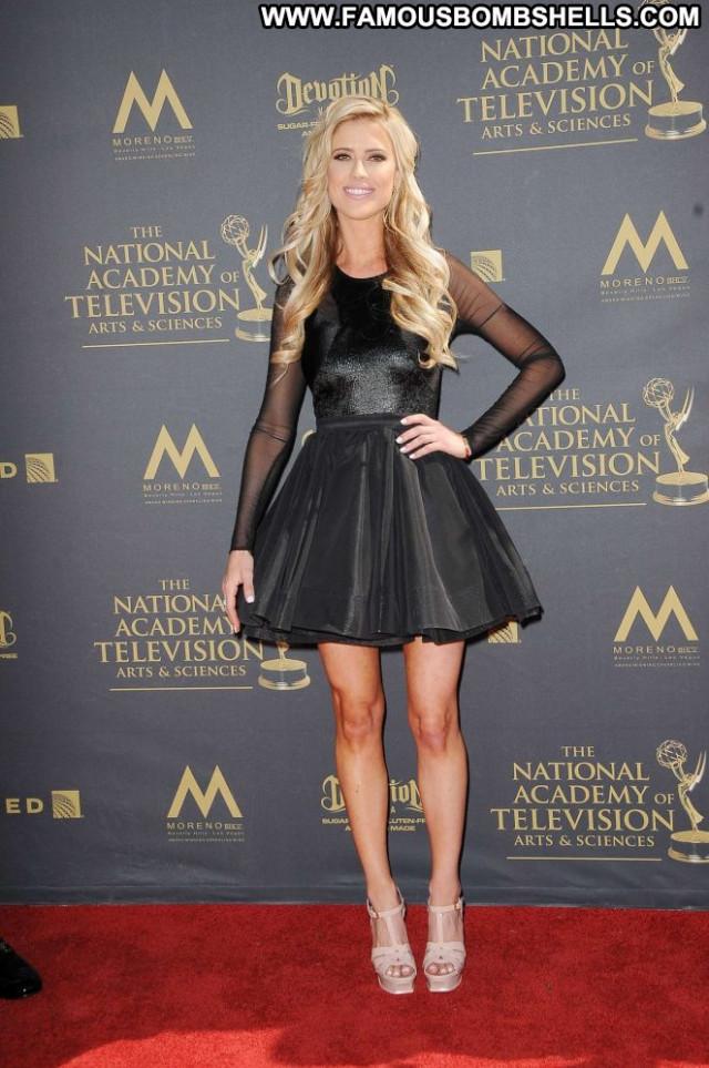 Christina El Moussa Emmy Awards Babe Posing Hot Celebrity Awards