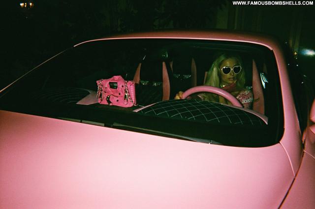 Paris Hilton Galore Magazine Live Car Celebrity Sexy Paris Bra See