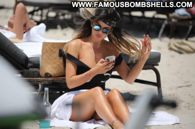 Karina Jelinek The Beach Beautiful Beach Celebrity Black Paparazzi