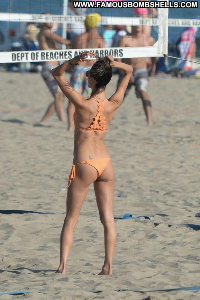 Bikini The Beach  Celebrity Beautiful Posing Hot Bikini Babe