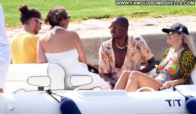 Reply No Source Swimsuit Babe Italy Posing Hot Jordan Celebrity Bar