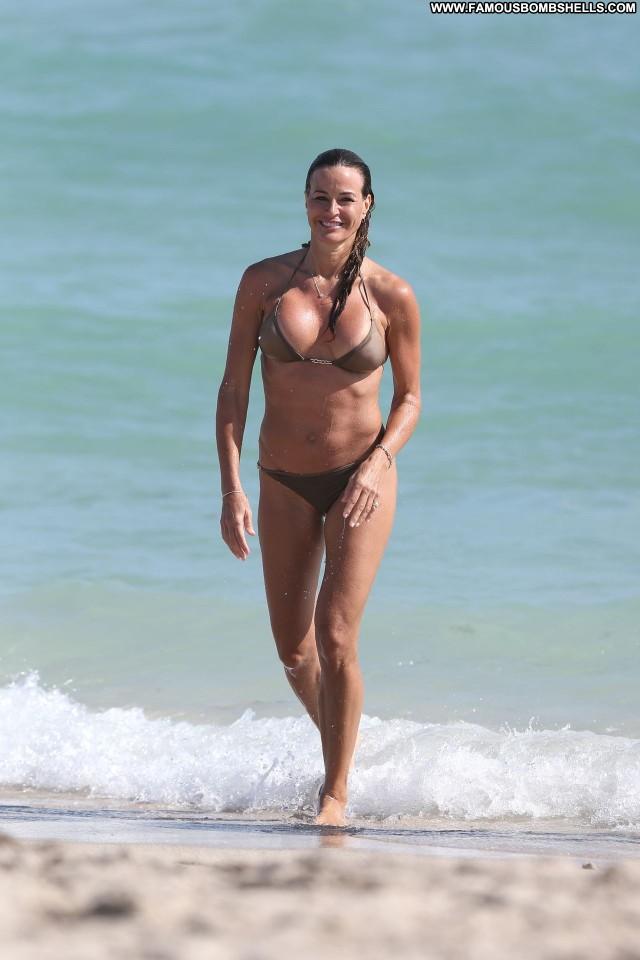 Kelly Bensimon Miami Beach Beach Model Babe New York Posing Hot