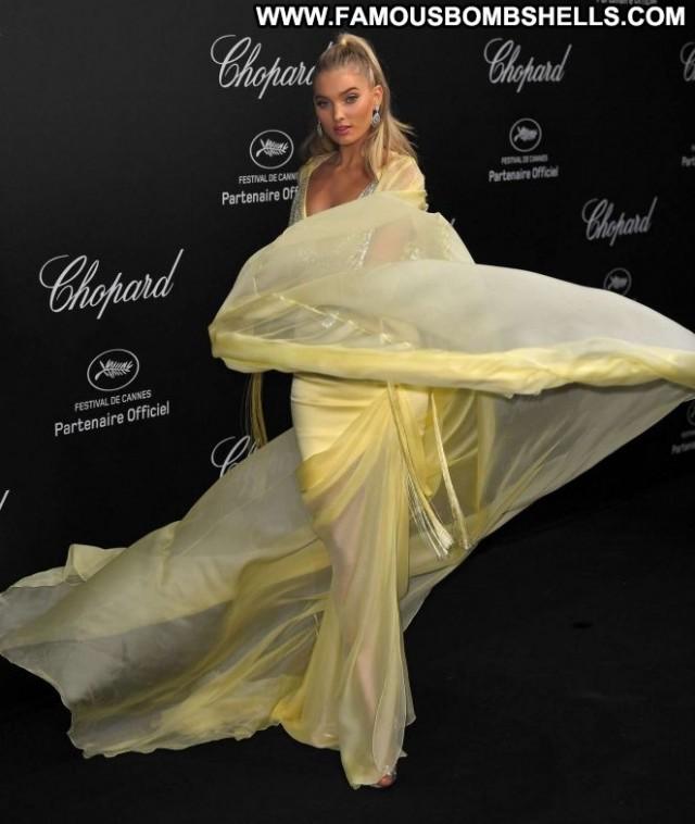 Elsa Hosk Cannes Film Festival Babe Paparazzi Celebrity Party Posing