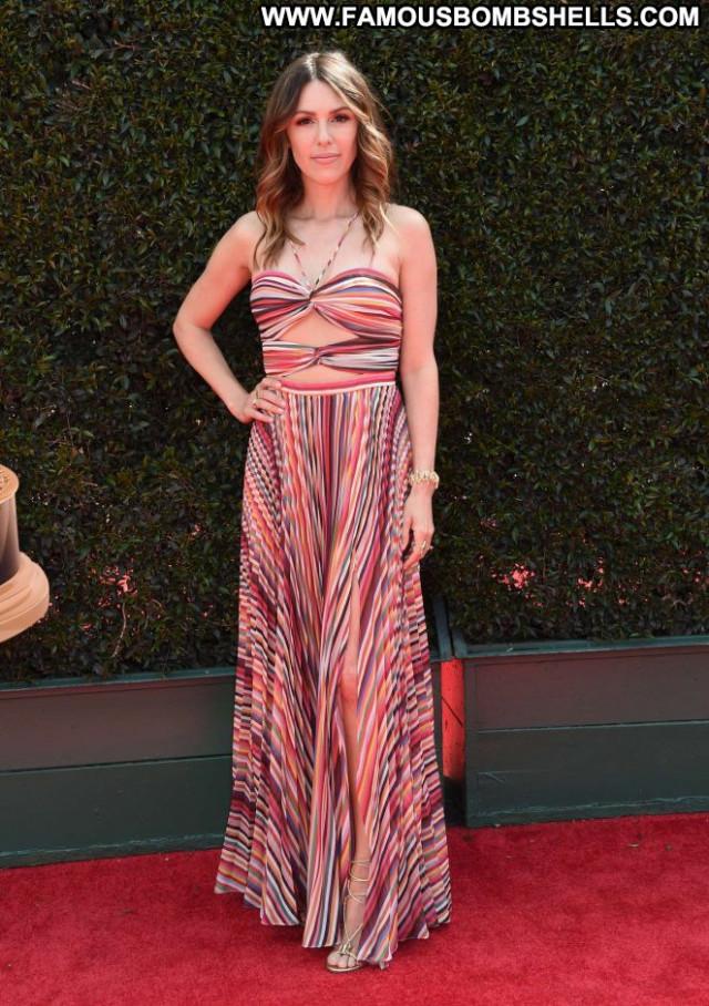 Elizabeth Hendrickson Emmy Awards Paparazzi Celebrity Awards Posing
