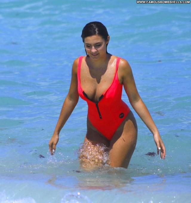 Tao Wickrath Miami Beach Bikini Posing Hot Sport Celebrity Sports