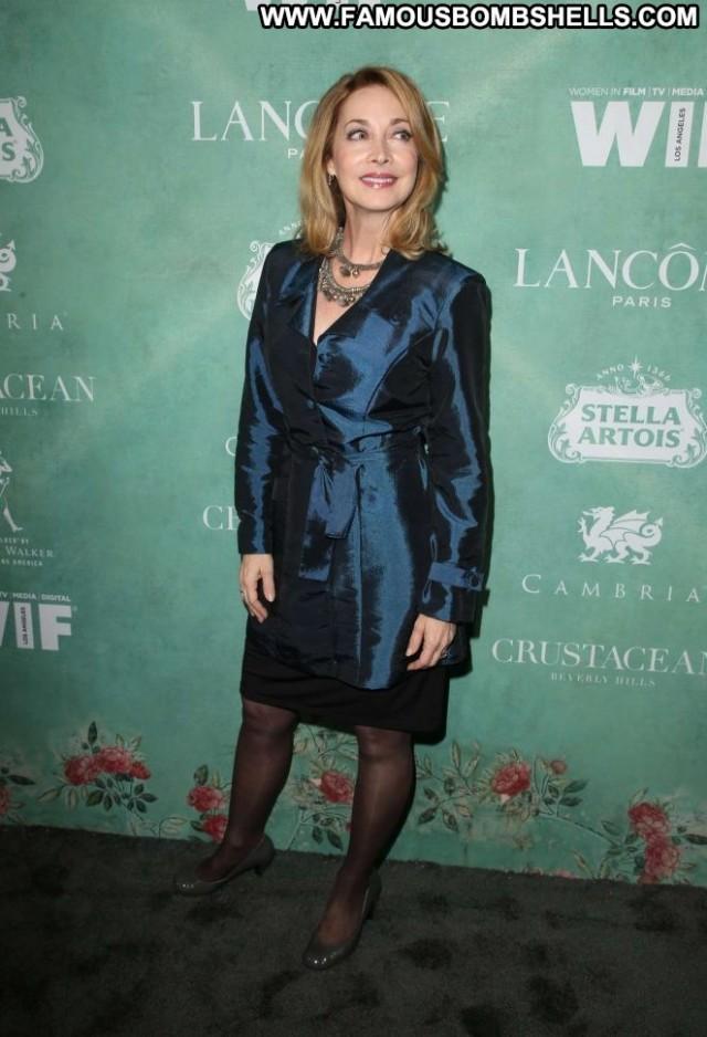 Sharon Lawrence Beverly Hills Party Posing Hot Beautiful Paparazzi
