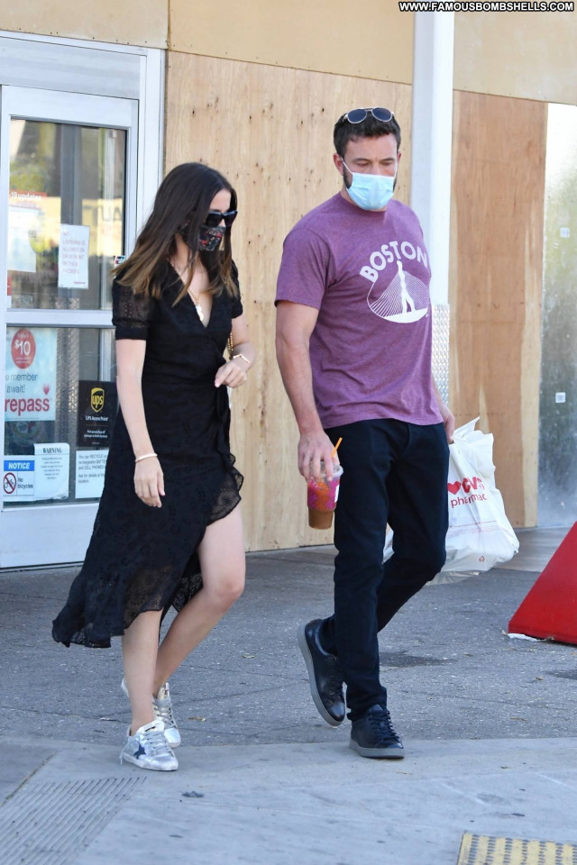 Ana De Los Angeles Paparazzi Celebrity Beautiful Babe Posing Hot