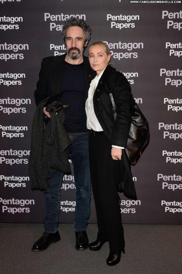 Emmanuelle Beart No Source Babe Posing Hot Paparazzi Celebrity